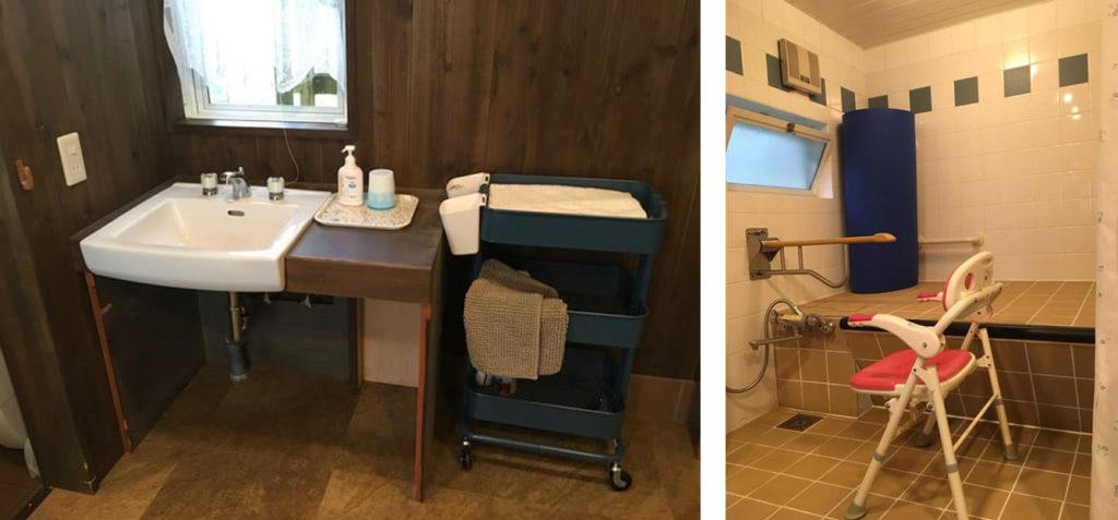長野県白馬バリアフリーコテージBRAZE-CLUB 洗面所・シャワーのお写真